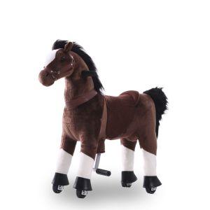 Kijana Reitspielzeug Pferd schokobraun klein