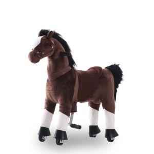 Kijana Reitspielzeug Pferd schokobraun groß