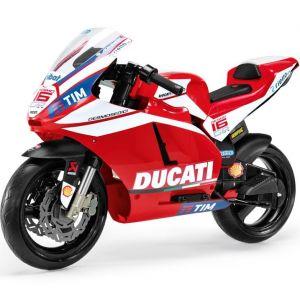 Peg Perego Elektro Kindermotorrad rot Ducati GP