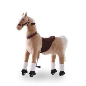 Kijana Reitspielzeug Pferd beige groß