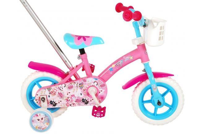 OJO Kinderfahrrad - Mädchen - 10 Zoll - Pink / Blau