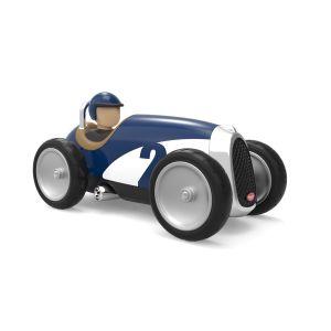 Baghera Retro Spielzeugauto Racer blau