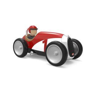 Baghera Retro Spielzeugauto Racer rot