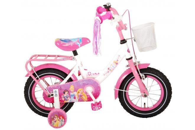 Disney Princess Kinderfahrrad Mädchen 12 Zoll Rosa 95% montiert
