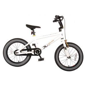 Volare Cool Rider Kinderfahrrad Jungen 16 Zoll Weiß 95% zusammengebaut