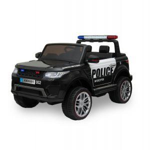 Kijana Polizei Elektro Kinderauto Ford Ranger Style schwarz
