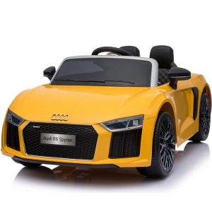 Audi R8 Cabrio kinderauto gelb