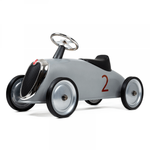 Baghera Aufsitzwagen Rider Retro Silber