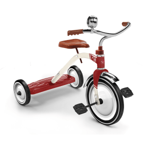 Baghera Vintage Dreirad rot