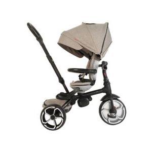 Qplay Tricycle Prime 4 in 1 - Jungen und Mädchen - Grau