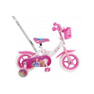 Disney Princess Kinderfahrrad Mädchen 10 Zoll Rosa/Weiß