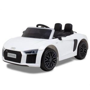 Audi Elektro Kinderauto R8 Cabrio weiß