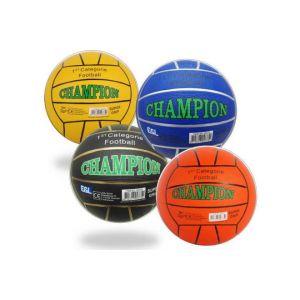 Straßenfußball-Champion - Gummi - Größe 5 - 380-420 Gramm - Verschiedene Farben - Sortiert