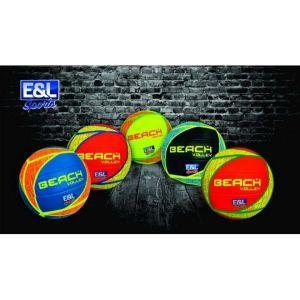 E & L Sports Beach Volleyball - Verschiedene / zufällige Farben
