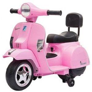 Mini Vespa Elektro Kinderroller Rosa
