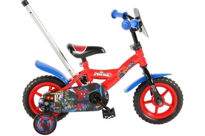 Spider-Man Kinderfahrrad - Jungen - 10 Zoll - Rot / Blau