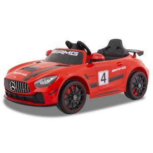 Mercedes Elektro Kinderauto GT4 rot