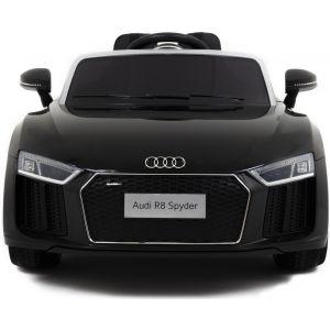 Audi R8 Cabrio kinderauto schwarz