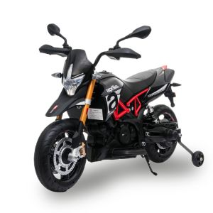 Aprilia Elektro Kindermotorrad Dorsoduro 900 schwarz