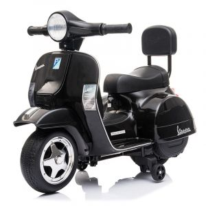 Mini Vespa Elektro Kinderroller schwarz