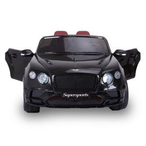 Bentley Elektro-Kinderauto Continental Supersports schwarz