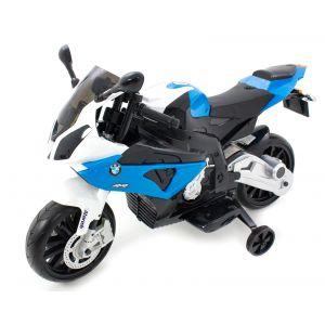 BMW Elektro Kindermotorrad S1000 blau