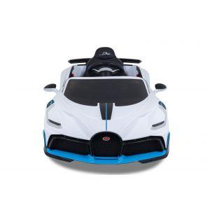 Bugatti elektrisches Kinderauto Divo weiß
