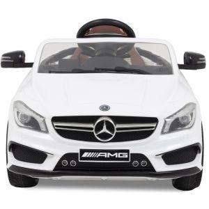 Mercedes Elektro Kinderauto CLA45 AMG weiß