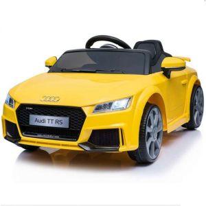 Audi Elektro-Kinderauto TT RS Gelb