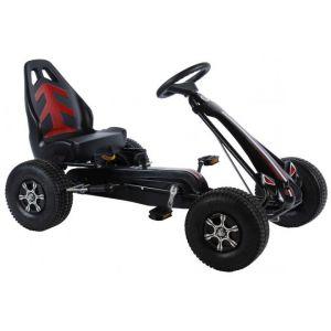 Volare Go Kart Racing Car Boys Large Luftreifen schwarz