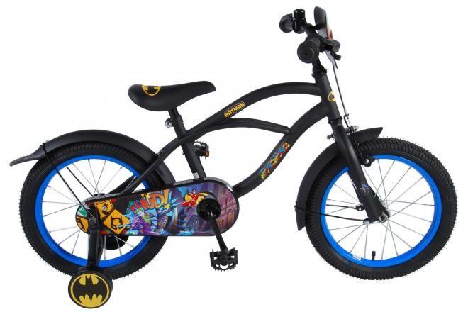 Batman Kinderfahrrad - Jungen - 16 Zoll - Schwarz