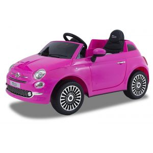 Fiat Elektro Kinderauto 500 rosa