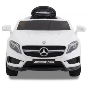 Mercedes Elektro Kinderauto GLA45 AMG weiß