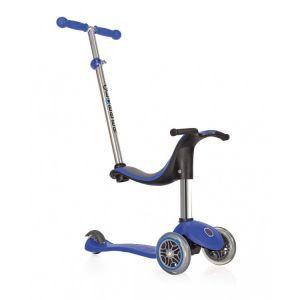 Globber Kinder Roller Go Up 4 in 1 Sportliches Blau