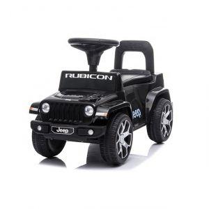 Jeep Wrangler Rutschauto schwarz