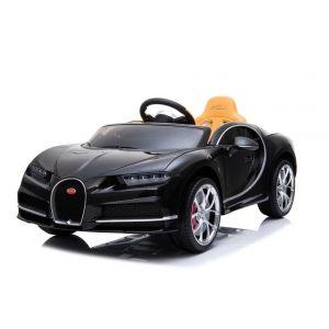 Bugatti elektrisches Kinderauto Chiron schwarz