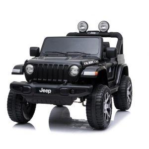 Jeep Elektro Kinderauto Wrangler schwarz