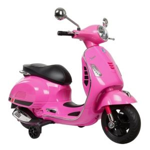 Vespa elektrischer Kinderroller GTS rosa