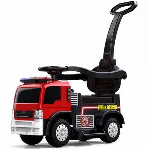 Kijana Feuerwehrauto rutschauto mit Schubstange