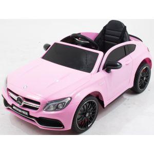 Mercedes Elektro Kinderauto C63 AMG rosa