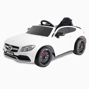 Mercedes Elektro Kinderauto C63 AMG weiß