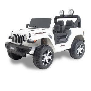 Jeep Elektro Kinderauto Wrangler Weiß