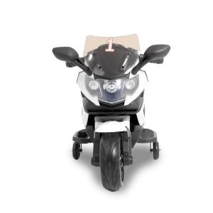 Kijana elektrisches Kindermotorrad Superbike schwarz - weiß