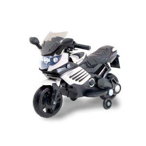 Kijana Elektro Kindermotorrad Superbike schwarz/weiß