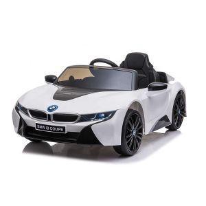 BMW Elektro Kinderauto I8 Weiß