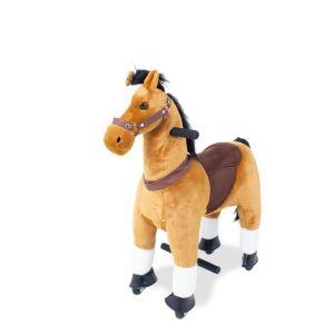 Reitspielzeug Pferd braun klein