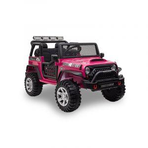 Kijana Jeep Elektro Kinderauto rosa