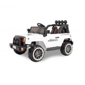 Kijana Elektro Kinderauto Jeep weiß