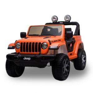 Jeep Elektro Kinderauto Wrangler Rubicon orange