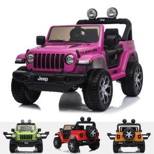 Jeep Elektro Kinderauto Wrangler Rubicon Rosa